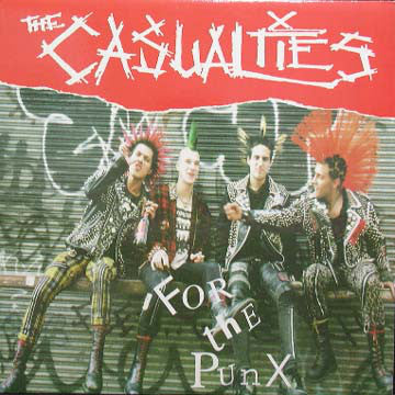 THE CASUALTIES - For the Punx (used)