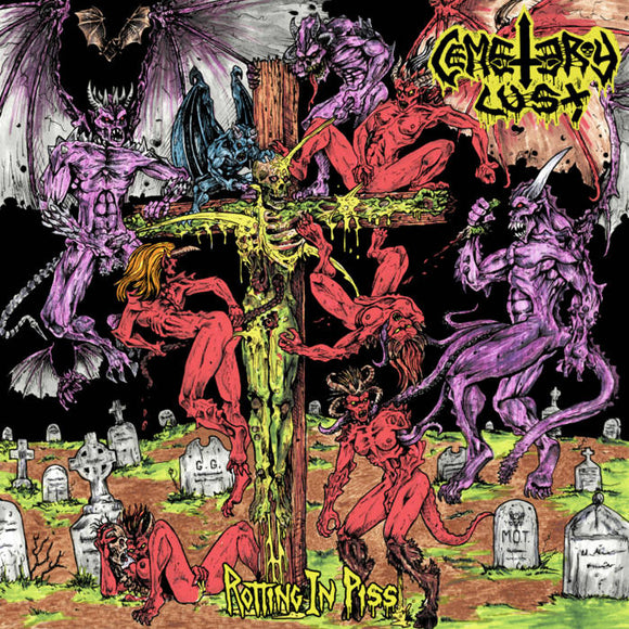 CEMETERY LUST - Rotting in Piss LP