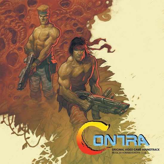 KONAMI KUKEIHA CLUB - Contra Soundtrack LP