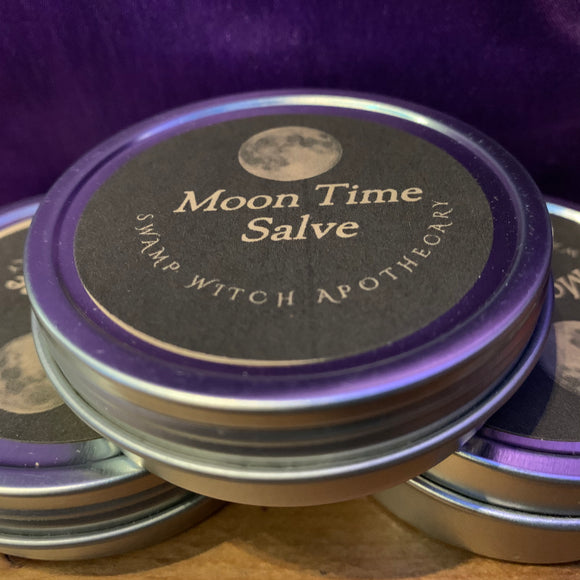 MOON TIME SALVE by Swamp Witch Apothecary