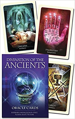 DIVINATION OF THE ANCIENTS ORACLE DECK (used- great condition)