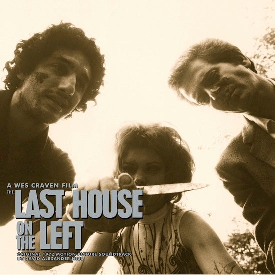 DAVID HESS - The Last House on the Left Soundtrack LP