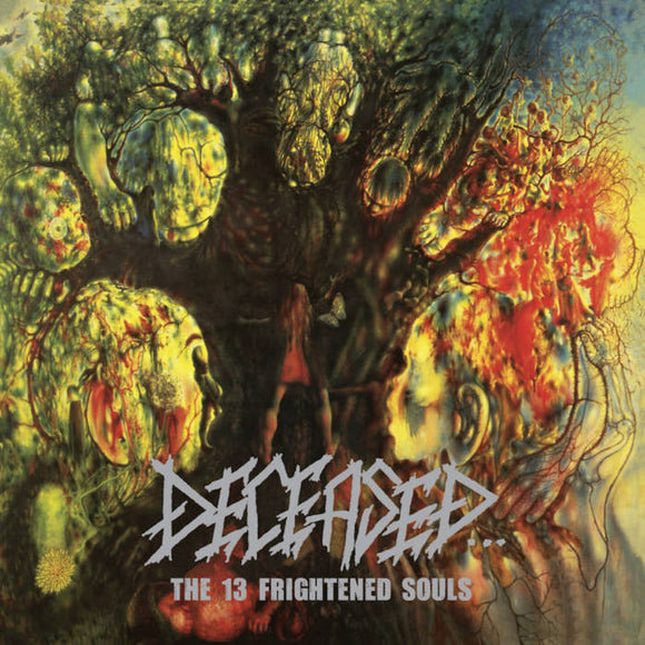 DECEASED - The 13 Frightened Souls LP (neon green/yellow/orange)