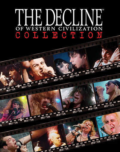 The Decline of the Western Civilization Collection (Blu-ray boxset)
