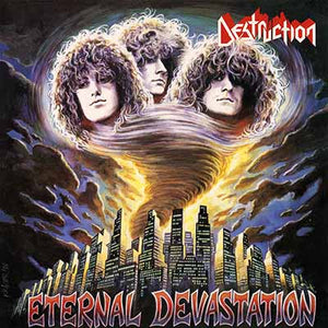 DESTRUCTION - Eternal Devestation LP (yellow)