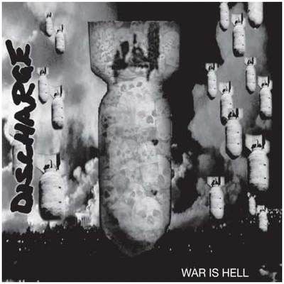 DISCHARGE - War is Hell LP (red)