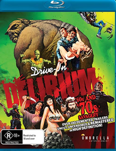 Drive-In Delirium 60s and 70s Savagery (Blu-ray)