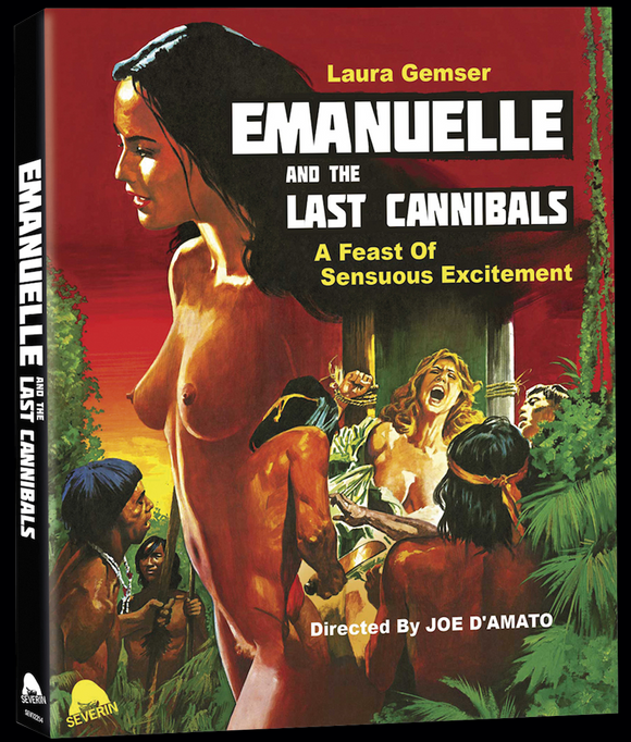 Emanuelle and the Last Cannibals (Blu-ray/CD w/ slipcover)