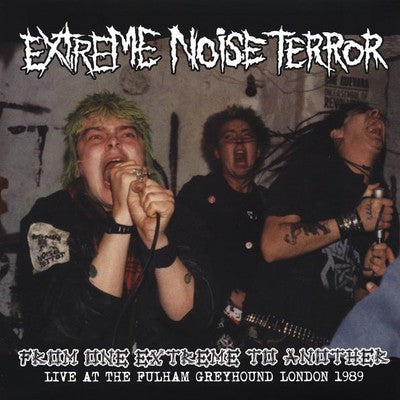 EXTREME NOISE TERROR - From One Extreme to Another Live 1989 LP
