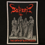 BEHERIT Oath of the Black Blood patch