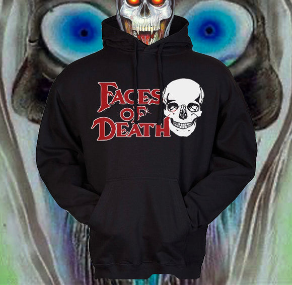 FACES OF DEATH Hooded Sweatshirt