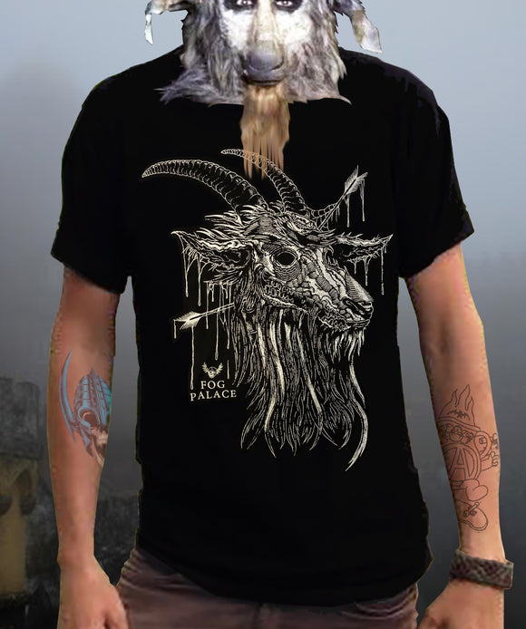 FOG PALACE Goat's Head Shirt