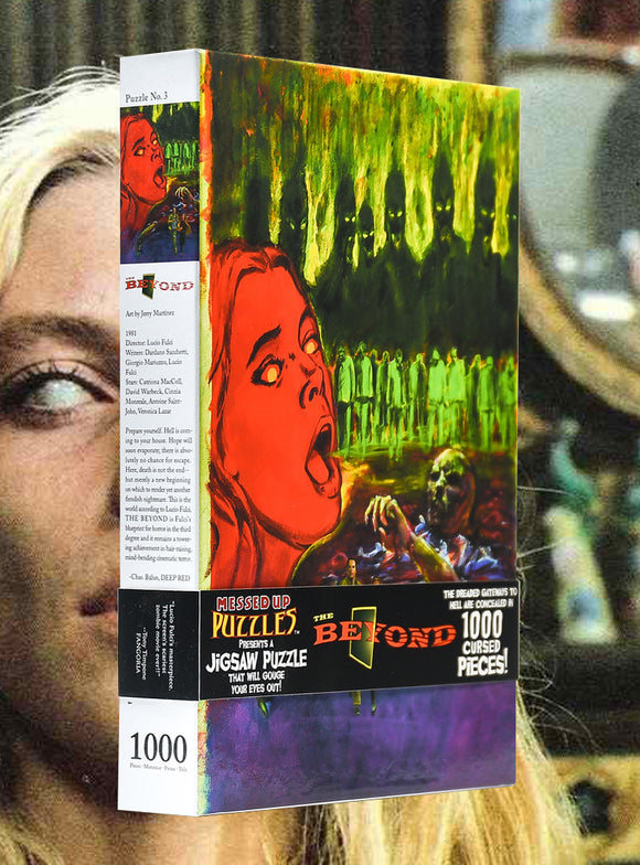 LUCIO FULCI'S THE BEYOND 1000 Piece Jigsaw Puzzle
