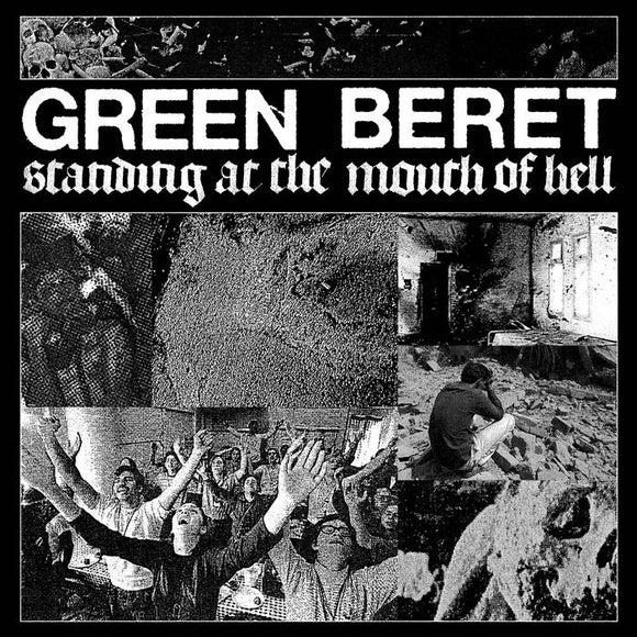 GREEN BERET - Standing at the Mouth of Hell LP