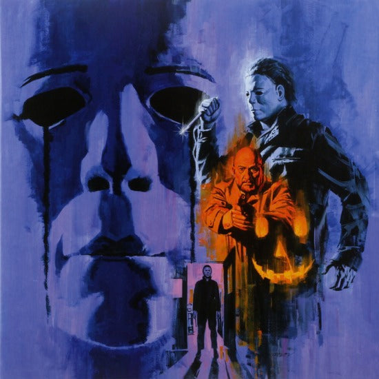 JOHN CARPENTER & ALAN HOWARTH - Halloween II Soundtrack LP