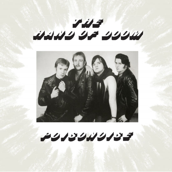 THE HAND OF DOOM - Poisonoise CD