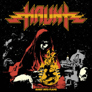 HAUNT - Burst Into Flame LP (orange/red)