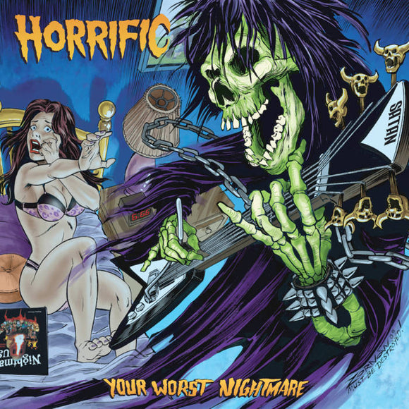 HORRIFIC - Your Worst Nightmare LP (color)