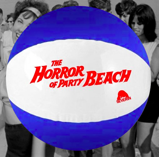 THE HORROR OF PARTY BEACH Inflatable Beach Ball