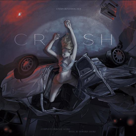 HOWARD SHORE - Crash Soundtrack 2LP
