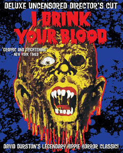 I Drink Your Blood (2 disc Blu-ray)