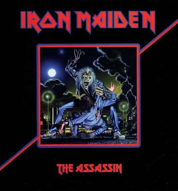 IRON MAIDEN - The Assassin LP