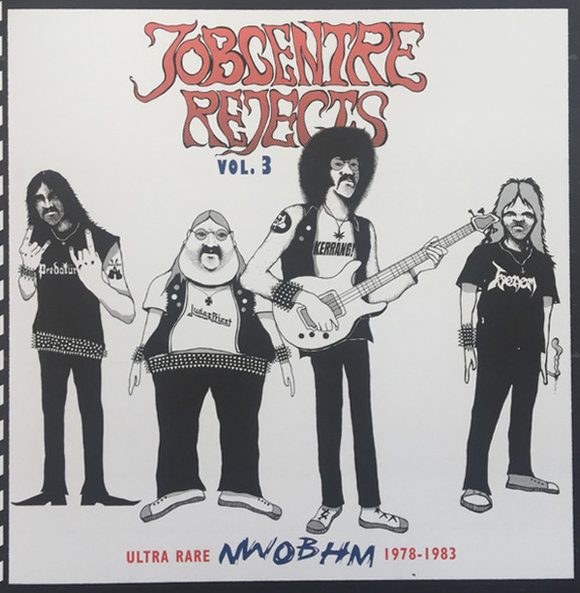 JOBCENTRE REJECTS Volume Three compilation LP