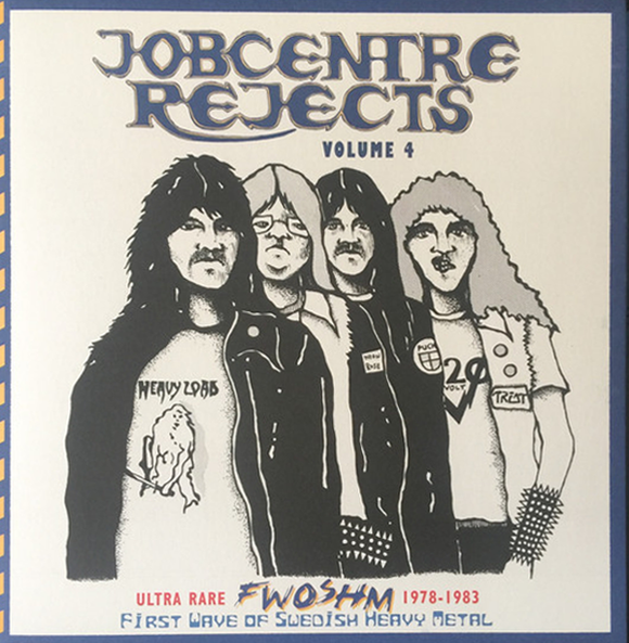 JOBCENTRE REJECTS Volume Four compilation LP