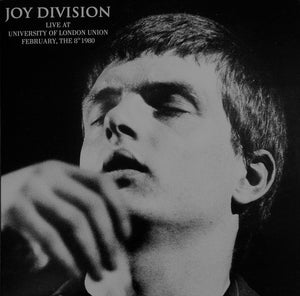 JOY DIVISION - Live at University of London Union 1980 LP