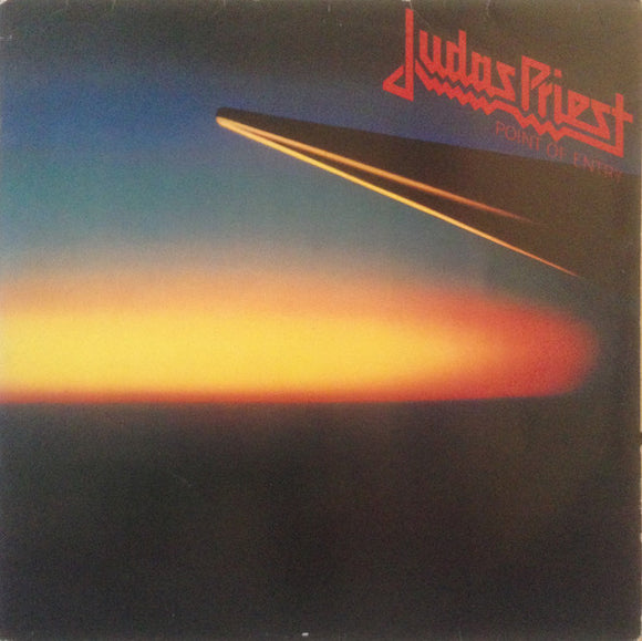 JUDAS PRIEST - Point of Entry LP