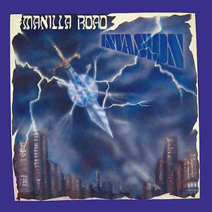 MANILLA ROAD - Invasion LP (transparent electric blue)