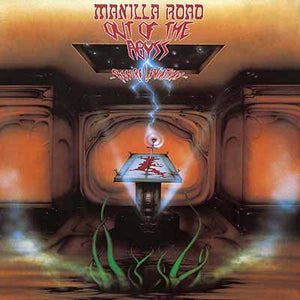 MANILLA ROAD - Out of the Abyss: Before Leviathan LP (orange)
