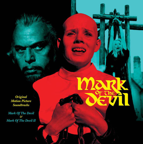 MICHAEL HOLM - Mark of the Devil I & II soundtrack LP