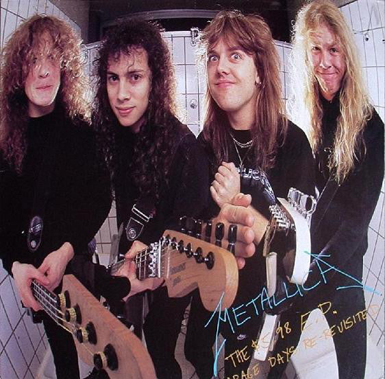 METALLICA - The 5.98 EP - Garage Days Re-revisited LP