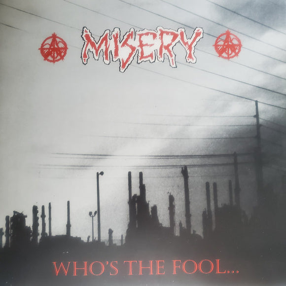 MISERY - Who's the Fool LP (used)