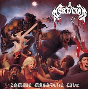 MORTICIAN - Zombie Massacre Live LP