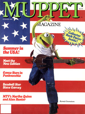 MUPPET MAGAZINE Issue 11, Summer 1985 (used)