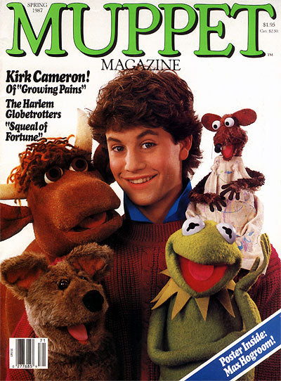 MUPPET MAGAZINE Issue 18, Spring 1987 (used)