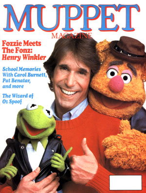 MUPPET MAGAZINE Issue 4, Fall 1983 (used)