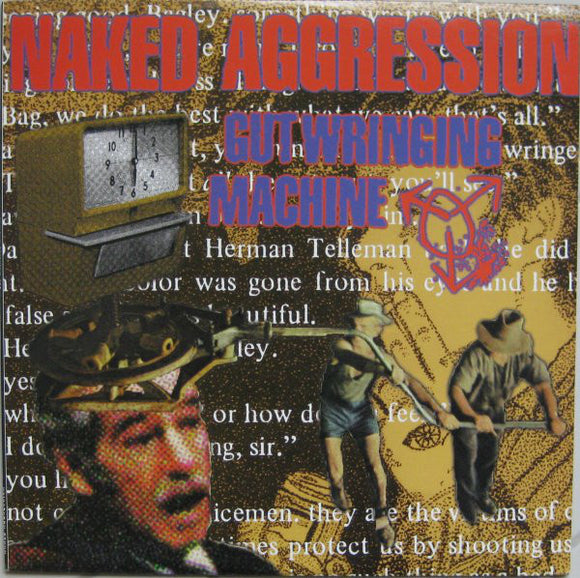 NAKED AGGRESSSION - Gutwrenching Machine LP (used)