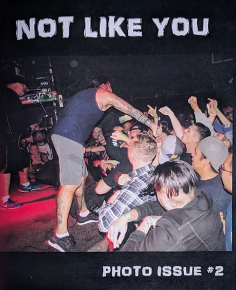 NOT LIKE YOU Photo Zine #2