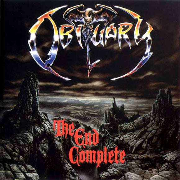 Obituary - The End Complete LP (red)