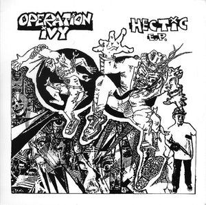 "OPERATION IVY - Hectic 12"" EP"