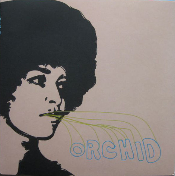 ORCHID - s/t LP (red)