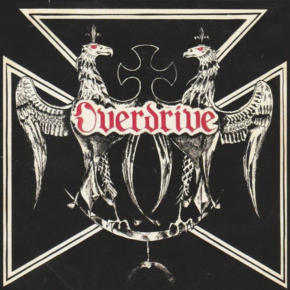 OVERDRIVE - On The Run: Demos & Rarities LP (white)