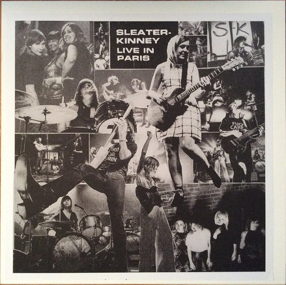 SLEATER KINNEY -Live in Paris LP (color)