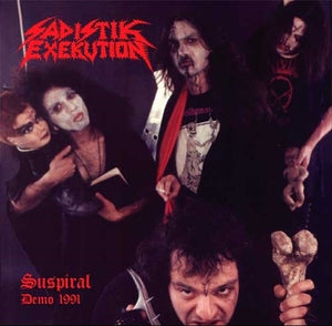 SADISTIK EXEKUTION / DOOMED AND DISGUSTING split 7""