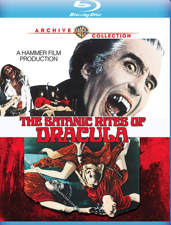 The Satanic Rites of Dracula (Blu-ray)