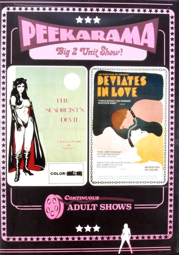 The Sexorcist / Deviates in Love  (DVD)