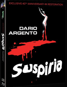 Suspiria (3 disc Blu-ray/CD Steelbook w/ slipcover)